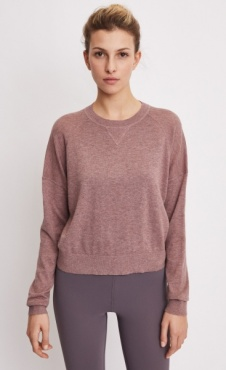 Filippa K Light Knit Sweatshirt - Mink