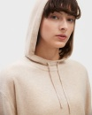 Filippa K 100% Cashmere Hood Sweater - Mousse - 2