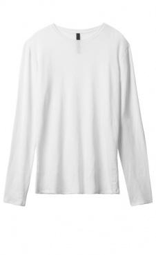 10Days Linen Longsleeve - White