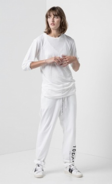 10Days Loose Unisex Jogger White