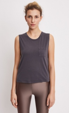 Filippa K Layer Tank Black Pearl