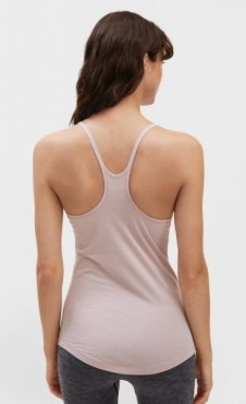 Filippa K Cotton Strap Tank - Frosty Pink