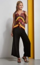 Wide Leg Jazz Pants - 2