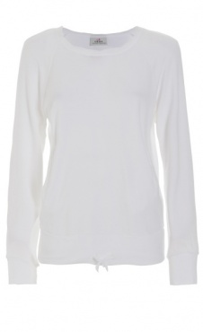 Yin Yoga sweatshirt - White