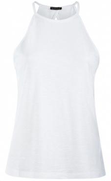 Neckholder Top - White