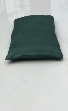 Eye Pillow Steel Green
