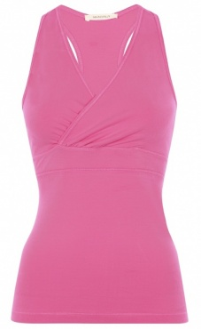 Wrap Yoga Top - Phlox Pink