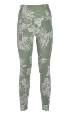 I Like Plants Legging - Fresh Green