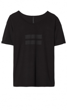 10Days 2 stripes Tee - Black
