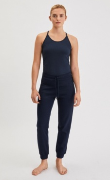 Filippa K Shiny Track Pants - Night Sky