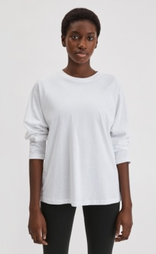 Filippa K Relaxed Raglan Top - White