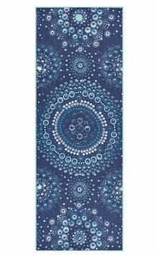 Bubbles Yogitoes Yoga Towel