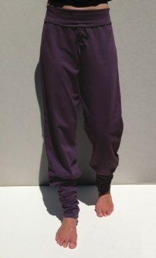 Anjali Yoga Pants - Deep Plum