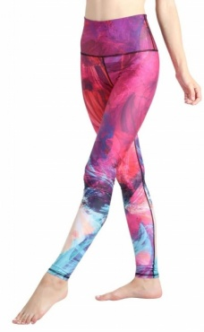 Root Chakra Laka Recycled Leggings