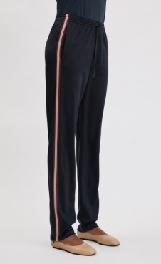 Filippa K Striped Track Pant - Navy