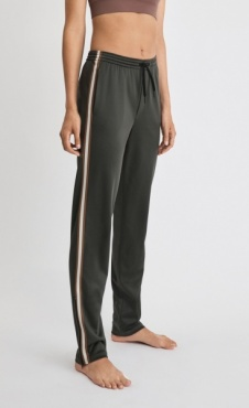 Filippa K Striped Track Pant - Spruce