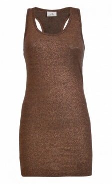 Sparkle Tank Top Copper