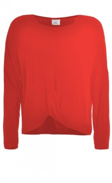 Twisted Longsleeve - Warm Red