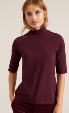 Lanius Turtle Neck Elbow T