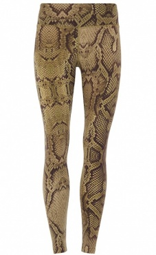 Natural Printed Legging - Snake