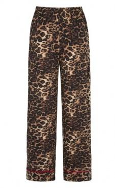 PJ Pants Leopard / Scarlet