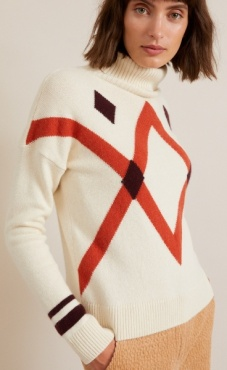Lanius Diamond Pullover