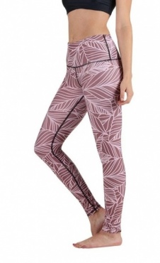Urban Camo Yoga Leggings - Rose