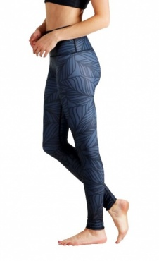Urban Camo Yoga Leggings - Slate