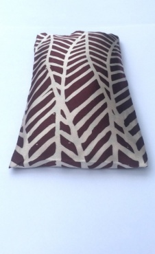 Eye pillow The Journey - Deep Red / Silver