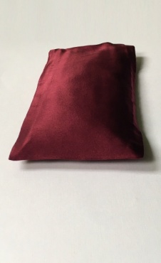 Eye pillow Burgundy