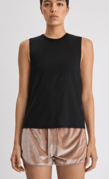 FilippaK Tencel Muscle Tank - Black