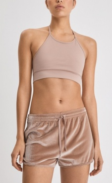 FilippaK Sporty Velvet Shorts