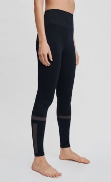 Filippa K Jaquard Stripe Leggings - Night Sky