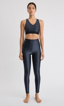 FilippaK Gloss Legging - Storm Blue
