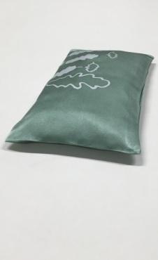 Eye Pillow Oak Leaf - Celadon BIG