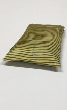 Eye Pillow Let It Be Stripes BIG - Lemon