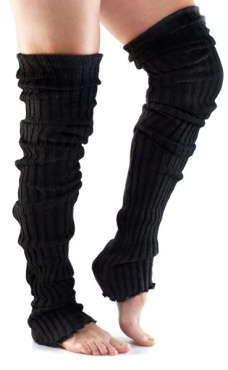 Long Ribbed Leg Warmer