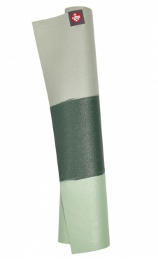 Manduka eKO Travel Mat Green Ash Stripe