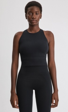 Filippa K Crop Top Black