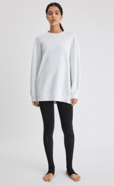 FilippaK Seam Sweatshirt White