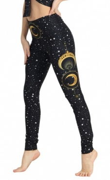 Fortune Teller recyceld Yoga Leggings