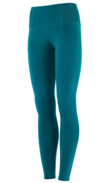 High Waist Leggings Tropical Green