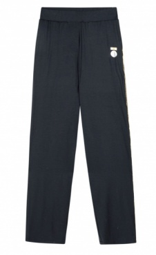 10Days Loose Beach pants - Dark Blue-grey