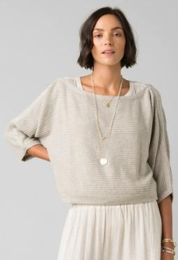 PrAna Tierra Sweater Oatmeal
