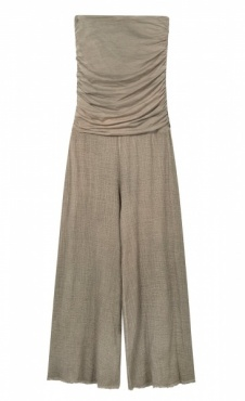 10Days Jumpsuit Gauze - Dark Safari