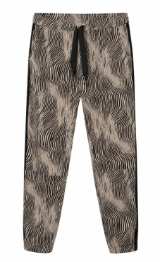 10Days Cropped Jogger Zebra