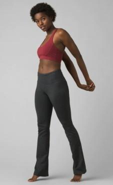 PrAna Transform Flare Pant - Charcoal Heather