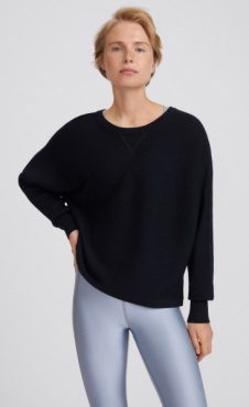 Filippa K Warm Up Sweater Black