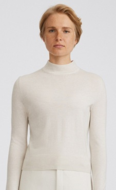 Filippa K Lynn Silk Mix Sweater - Ivory
