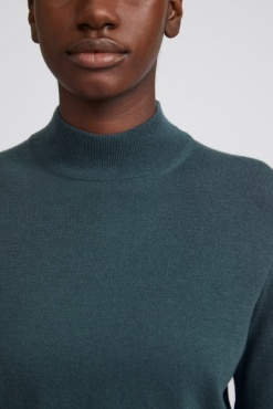 Filippa K Lynn Silk Mix Sweater - Pacific Blue